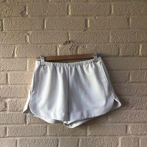 Brandy Melville White Tennis Shorts